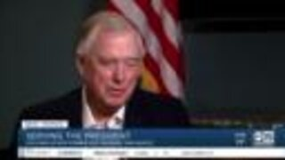 Part 1: Former Vice President Dan Quayle speaks to ABC15 about political career