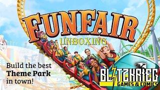 Funfair Board Game Unboxing