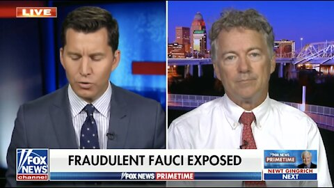 Dr. Rand Paul was Right, Fauci was Wrong - October 21, 2021