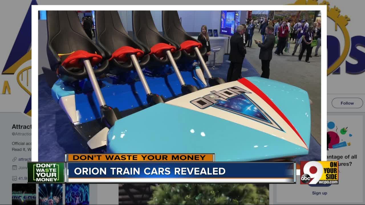 DWYM: Kings Island Orion train cars revealed