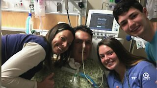 Son helps save father's life with CPR
