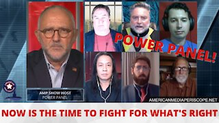 AMP Power Panel of Patriots - Freedom It's Up To US