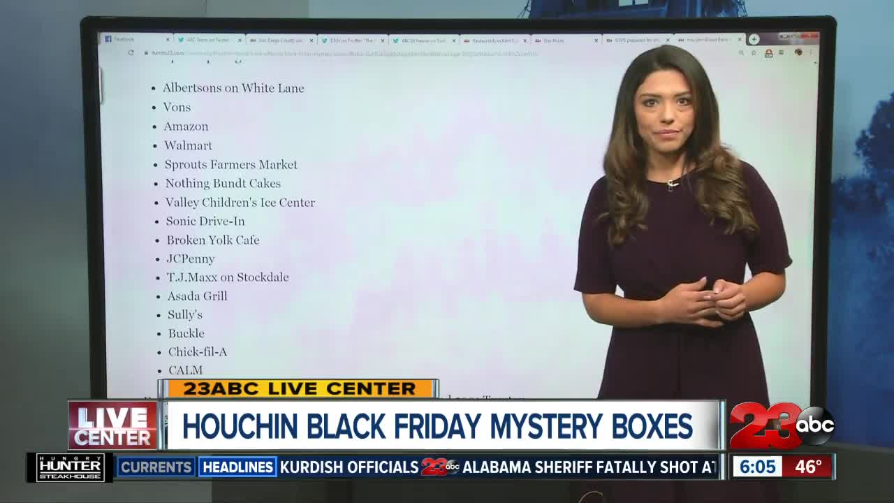 Houchin Blood Bank Offering Black Friday Mystery Boxes