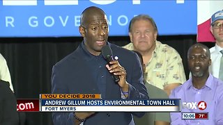 Andrew Gillum hosts environmental town hall in Fort Myers