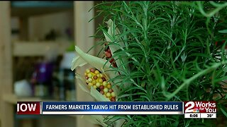 Farmers' markets taking hit from established rules