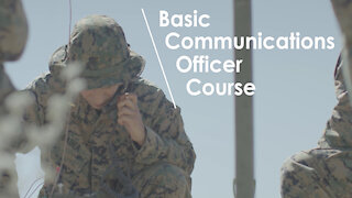 Basic Communications Officer Course