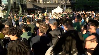 Preventing gun violence top of mind as Bucks fans flock to Deer District
