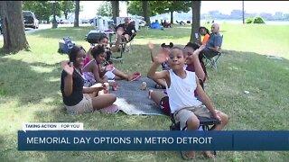 Memorial Day options in metro Detroit