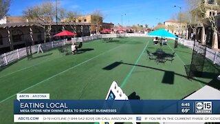 Al Fresco off Main: Downtown Mesa opens outdoor, community dining spot