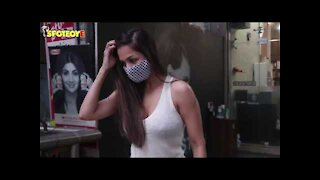 Spotted: Malaika Arora at Muah Salon & Radhika Madan at Maddock's office in Bandra | SpotboyE
