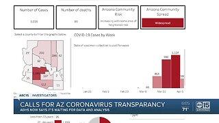 Calls for Arizona coronavirus transparency