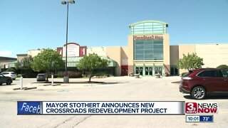 Mayor Stothert announces new Crossroads redevelopment project