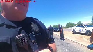 Aurora officer caught on camera using racial slur