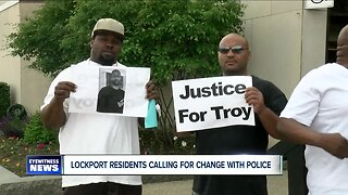 Lockport Community outraged over young man's death in police custody