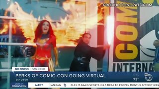 Some perks of Comic-Con going virtual
