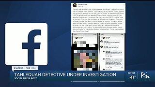 Tahlequah Police Detective Under Investigation For Social Media Post
