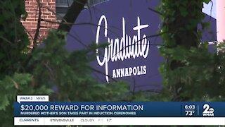$20,000 reward for information on Annapolis homicide
