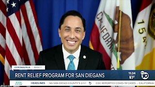 Rent relief program for San Diegans