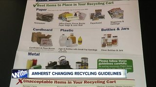 Amherst changing recycling guidelines