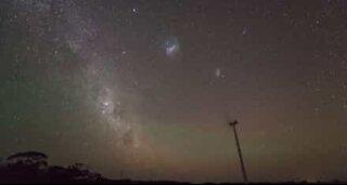 Timelapse av meteorsverm i Australia