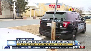 AACo. Police are searching for Arundel Mills Mall shooting suspect
