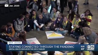 Kids and families work to stay connected through the pandemic