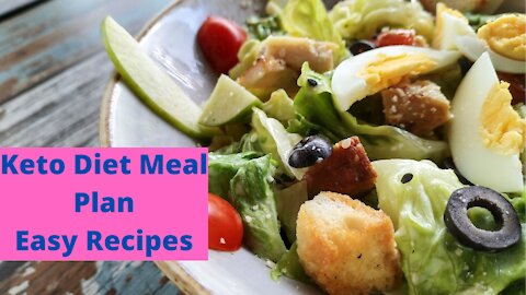 Keto Diet Meal Plan Easy Recipes No Vegetables | Keto Weight Loss Reviews