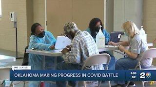 Oklahoma making progress in COVID battle