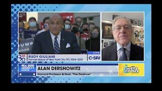 Alan Dershowitz - There are 4th Amendment violations in search vs Rudy Giuliani