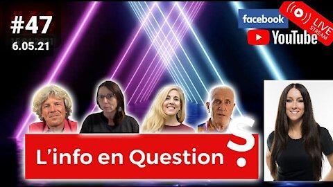 L'info en QuestionS #47 avec Amélie Paul 😃 6.05.21