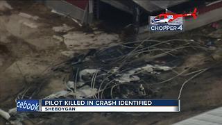 Pilot killed in Sheboygan plane crash identified