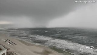 Waterspout forms near shores of Panama City Beach