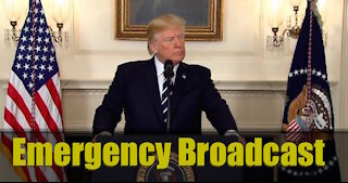 President Trump Adresses Election Fraud BANNED