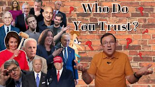 My Blog: Who Do You Trust?