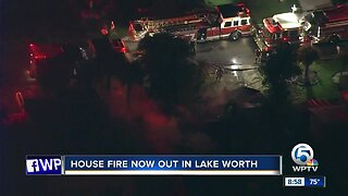 Fire occurs at home full of clothing, household items in central Palm Beach County