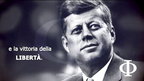 """JFK: affronteremo qualsiasi cosa """"per garantire la sopravvivenza e la vittoria della libertà."""""""