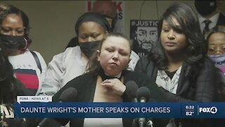 Duante Wright's mother speaks out about charges on officer