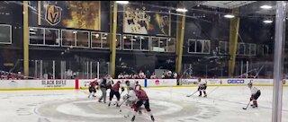 Vegas Veterans Hockey Foundation charity hockey game