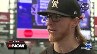 Live interview with Rockies pitcher Jon Gray