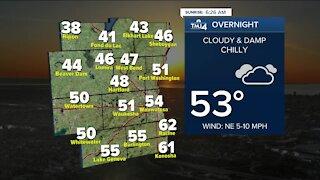 Rain possible Friday, cooler temperatures stick around