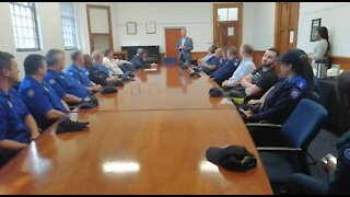 SOUTH AFRICA - Cape Town - Law Enforcement Auxiliary Service (Video) (XPr)