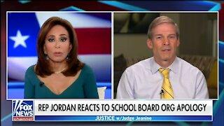 Rep Jordan Reacts To Nat School Board Assoc Apology