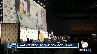 Warner Bros. to skip Comic-Con Hall H
