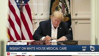 Former adviser provides insight into White House medical care