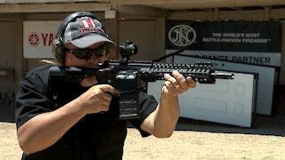 POF 7.62 Revolution Carbine Slow Motion #165