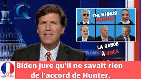 La bande à Biden - Il est prouvé que Biden était au courant des affaires de Hunter.