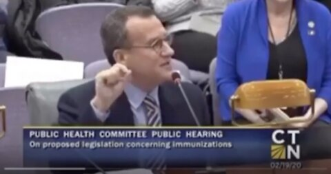 Dr Larry Palevsky testifying on the dangers of nano aluminum in vax
