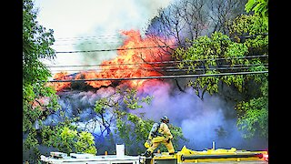 Fire consumes vacant Honolulu home