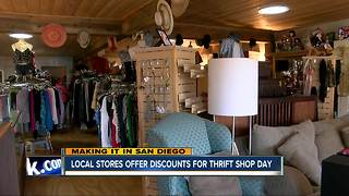 Local stores offer discounts on National Thrift Shop Day
