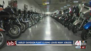 Harley-Davidson to close Kansas City assembly plant in 2019